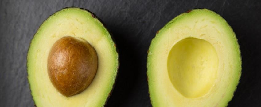 Fresh cut avocados ready to be guacamole
