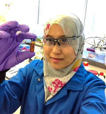 At MIT Microfluidics and Nanofluidics Research laboratory