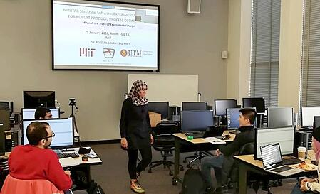 MINITAB course at MIT