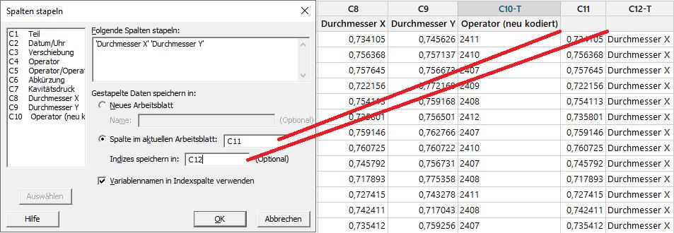 5 Tipps fuer den Umgang mit unsauberen Daten in Minitab_Stapeln
