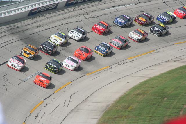 Does NASCAR driver starting position influence finish?