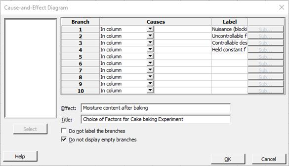Creating a fishbone diagram in minitab creating a fishbone diagram by using data entered in the worksheet ccuart Image collections