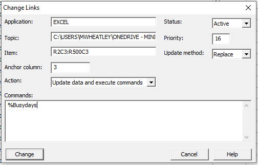 how to open minitab files in excel