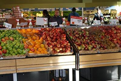 Some grocery stores use Lean Six Sigma techniques to help shoppers complete their grocery lists more efficiently.