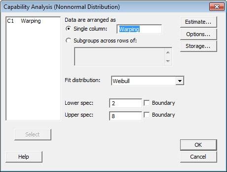 Nonormal Process Capability Software