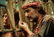 Martin Sheen and Dennis Hopper in Apocalypse Now