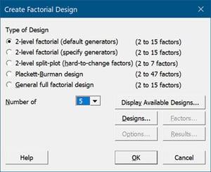 create-factorial-design-setting-screenshot