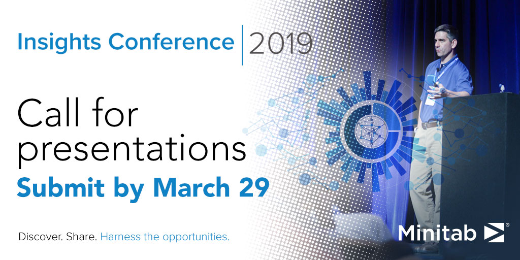 Minitab Insights Conference 2019 Call for Presentations