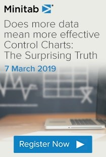 Register to watch: Does more data mean more effective Control Charts: The Surprising Truth