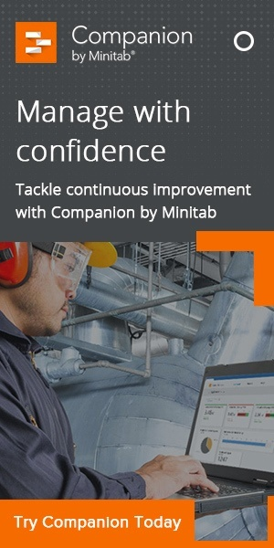 Companion by Minitab - The complete process improvement toolkit. Start your free trial.