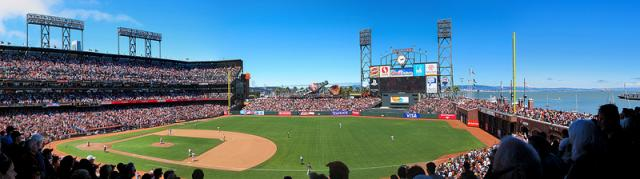 AT&T Park, June 30, 2012 by Peter Thomsen