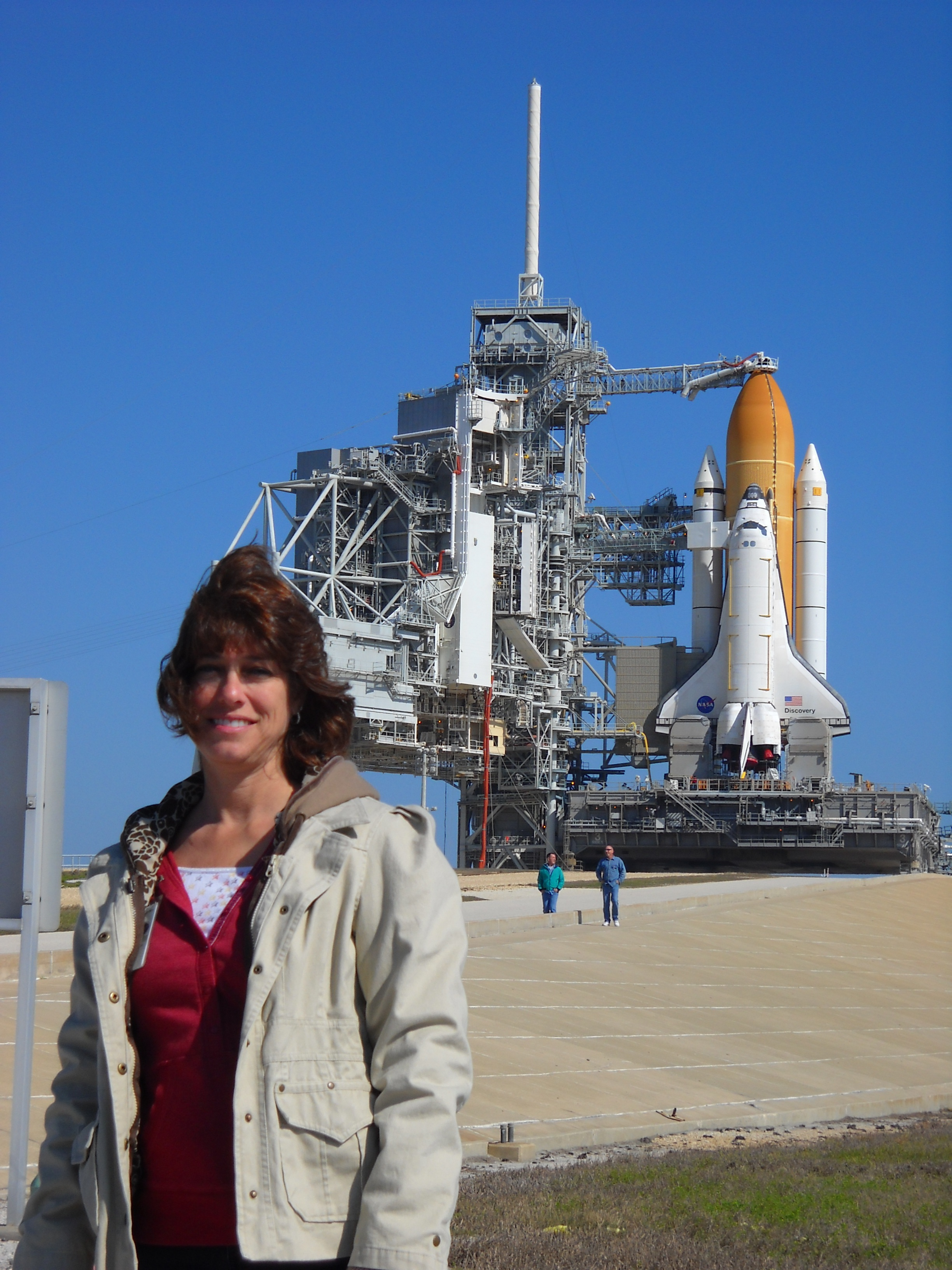 Bonnie K. Stone and the Space Shuttle