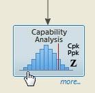 capability analysis option