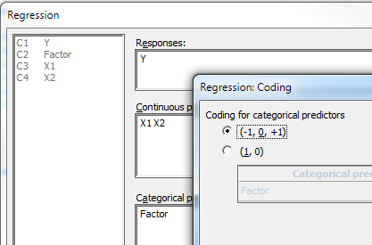 Coding Dialog Box