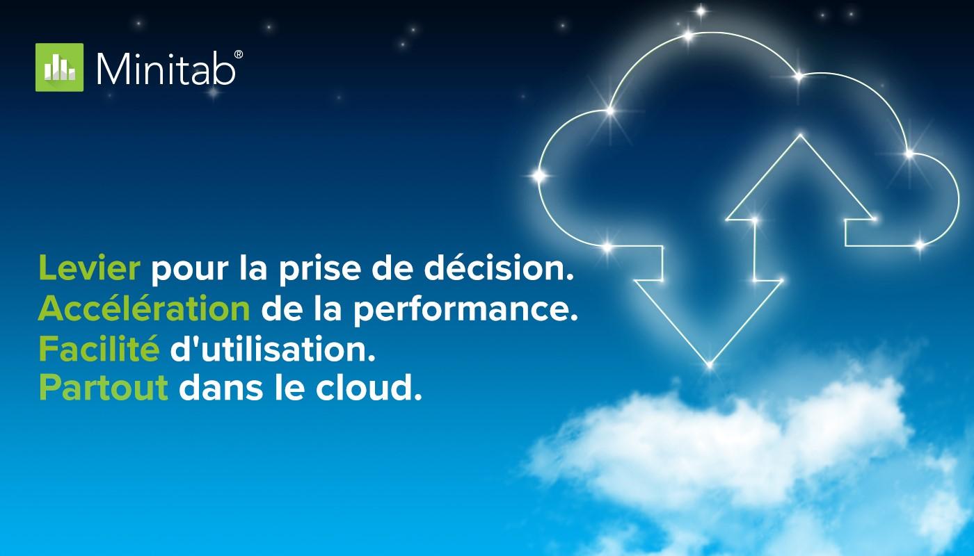 Minitab Cloud Nouvelle version